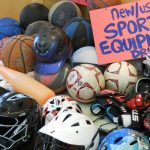 "Donate Sports Equipment to ""Level the Playing Field"""