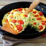 30 Minute Meal: Herb & Veggie Fritatta