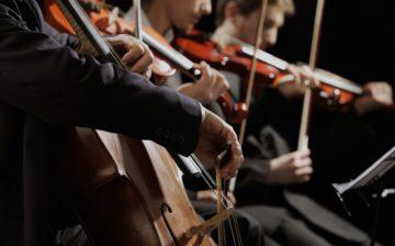 music orchestra violin