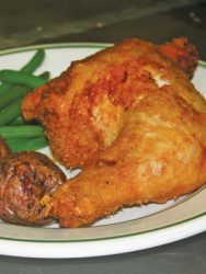 Fried chicken at The Chalfonte.