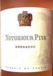 notorious pink rose wine