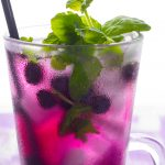 Fresh Blackberry Mojito