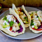 Healthy Grilled-Fish Tacos with Buttery Avocados