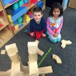 My daughter and fast friend, Shane at preschool.