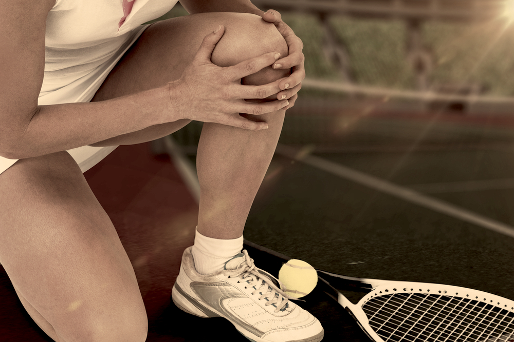 tennis injury knee