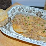 Whole Wheat Biscuits & Gravy (spicy or not)