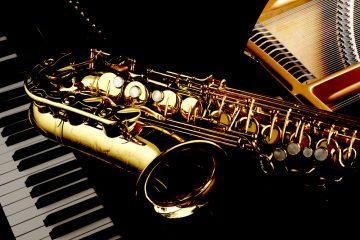 jazz piano sax