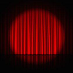 stage theatre perform