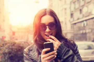 teen woman phone