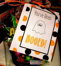 boo bag halloween