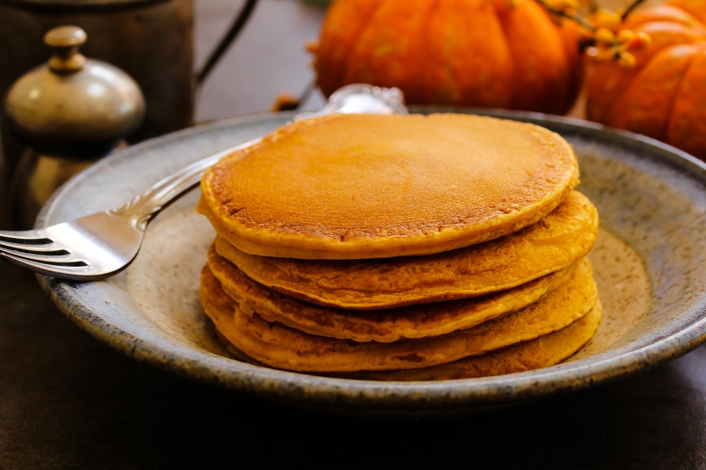 Pumpkin Pancakes for Dinner | Tips From Town