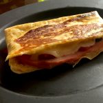 """Ham & Cheese """"Panini"""""""