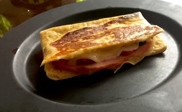 "ham and cheese ""panini"""