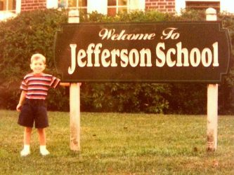 Greg at Jefferson School.