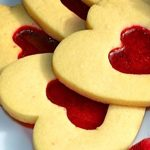 Stained Glass Heart Cookies for Valentine's Day