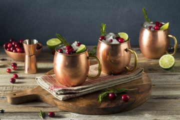 copper mugs ginger beer