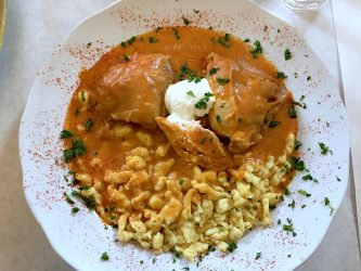 Chicken Schnitzel.