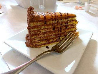 choclate torte Balaton Cleveland