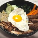 Bibimbap (BEE-beem-bop), a Korean Mixed Rice Dish