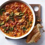 Sausage Lentil Kale Soup
