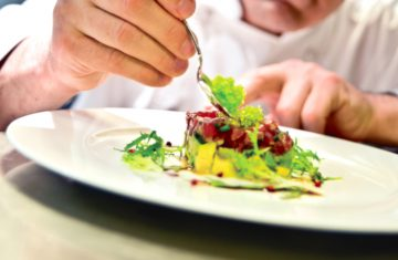 plate food chef