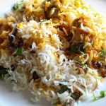 Lamb Biryani with Saffron, Ginger and Chili
