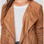 A Suede Jacket You Can Feel Good Wearing!