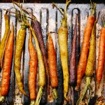 Colorful Roasted Rainbow Carrots