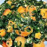 Creamed Spinach & Parsnips