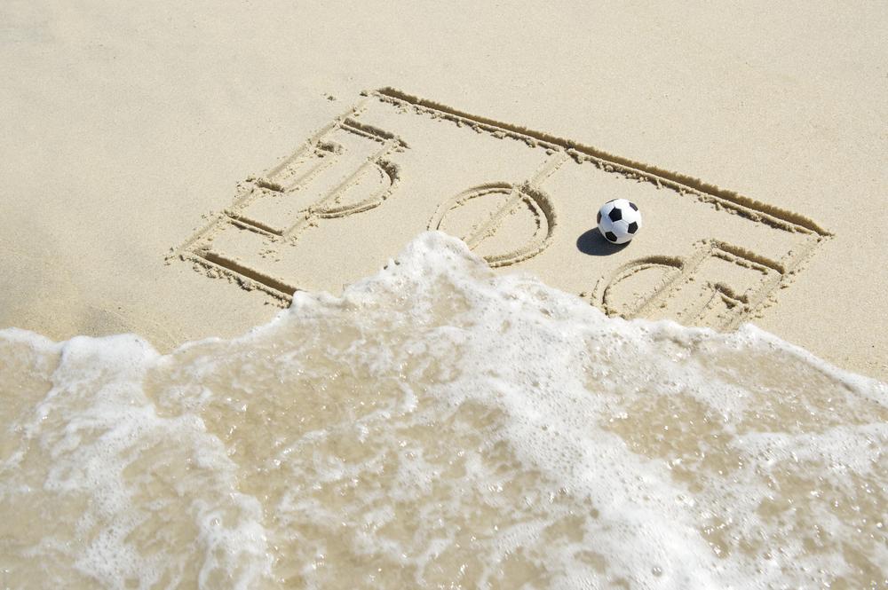 soccer, beach