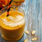 Pumpkin Pie Smoothie with Banana & Coconut Milk