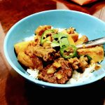 Tender Thai Beef Curry with Ginger & Coconut Milk