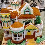 A Whimsical Display of Gingerbread Houses