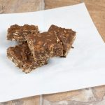 No-Bake Almond or Peanut Butter Bars
