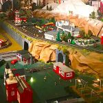 A Magical Model Train Display