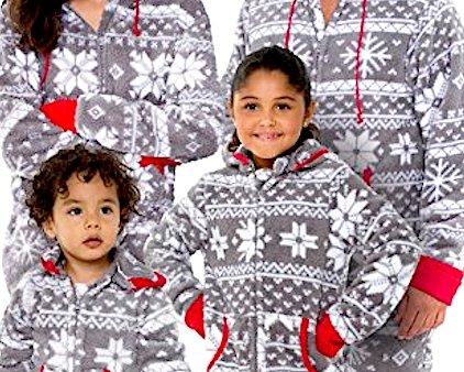 Family Footed Pajamas Christmas Theme Park Pro 4k Wallpapers