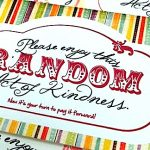 Ideas for Random Acts of Kindness