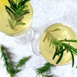 Herbal-Infused Champagne Cocktail