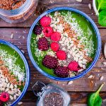 Green Smoothie in a Bowl