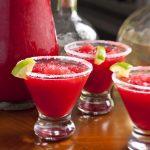Our Slushy, Boozy Cranberry Margarita