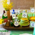 St. Patrick's Day Leprechaun Brunch Or Breakfast