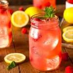 Refreshing Spiked Raspberry Lemonade
