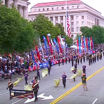 Madison High School Marching Dodgers Perform at National Memorial Day Parade