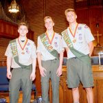 3 Eagle Scouts Give Back in Ridgewood