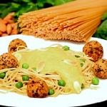 Plant-Based Spaghetti & Meatballs