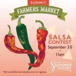 Summit Farmers Market Salsa Contest