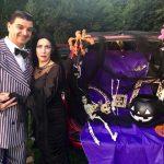 Morticia & Gomez Addams' Masquerade Ball in Westfield