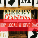 Shopping Local & Help the Social Services Association.