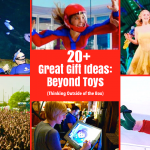20+ Gift Ideas Beyond Toys: Experiences, Day Trips and More!