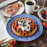 Almond Flour Waffles-Gluten Free